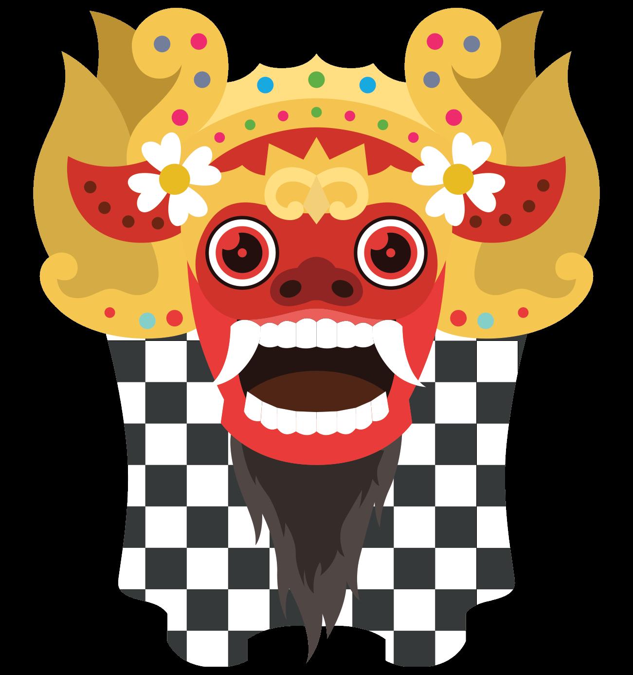 Ubud Barong Mask